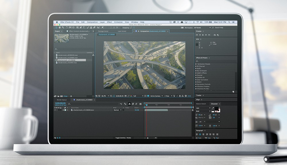 Plug-ins and After Effects CC 2015 (13.5) - Adobe