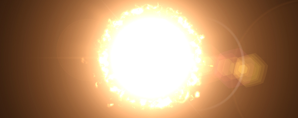 Sun Fire Effect In After Effects