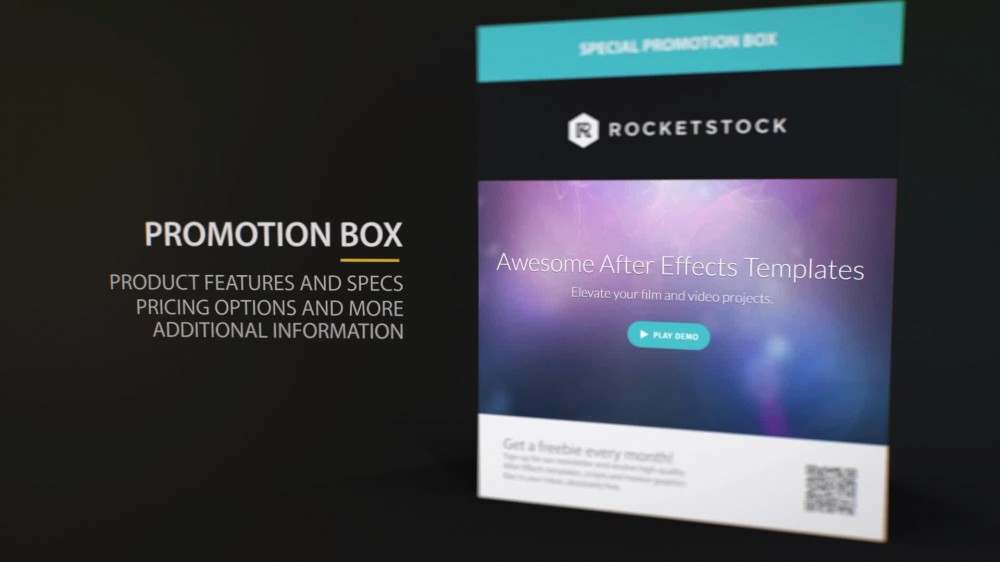 home after effects templates ae promo templates compact