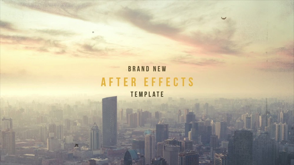 Forstine: Edgy Film Title Sequence - After Effects Template
