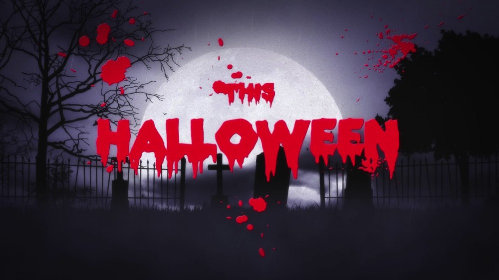 Tombstone: Logo Reveal - Halloween After Effects Template